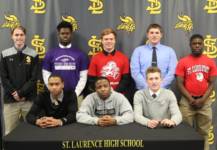 Student Athletes Sign Letters Of Intent To Play In College
